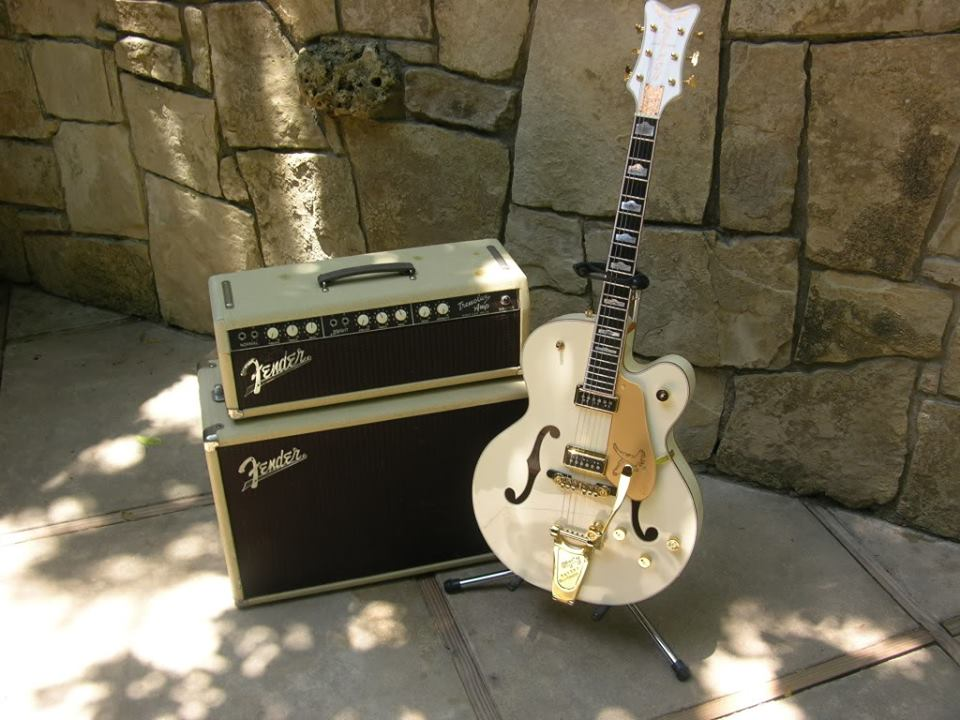 Gretsch White Falcon. American Legend