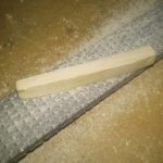 Shaping a new (maple!) nut  | DIY reso guitar conversion making