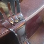 Tailpiece fitting and mounting  | DIY reso guitar conversion making