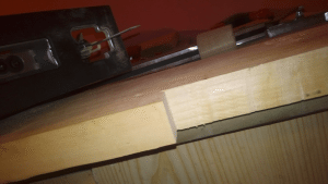 Cutting a solid maple blank for the diy guitar neck